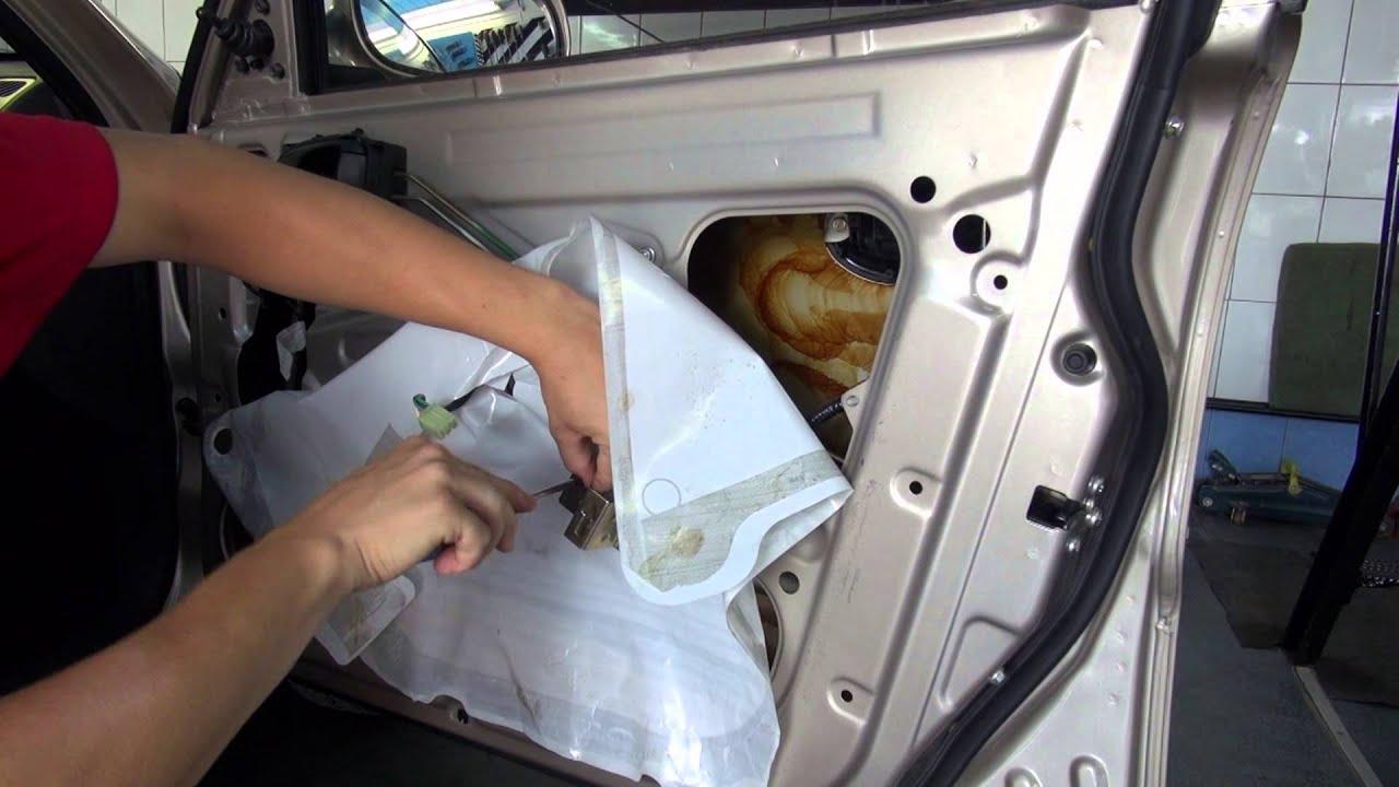 как регулировать двери на chevrolet lanos