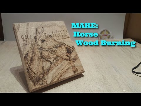 ✔DDW-17: Horse Wood Burning