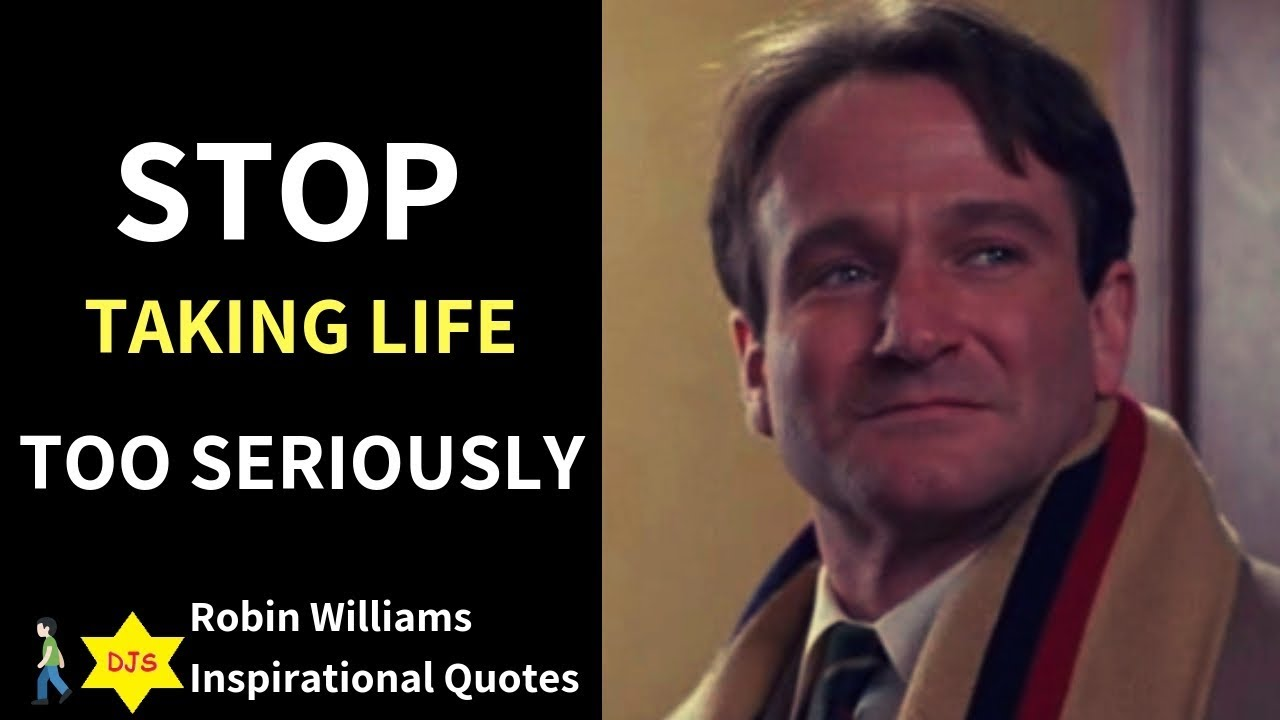 Robin Williams Inspirational Quotes - YouTube