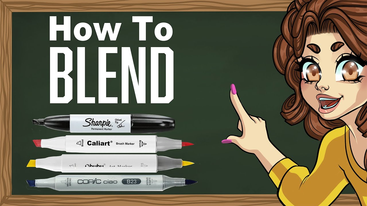 How to Blend Alcohol Markers for Beginners!