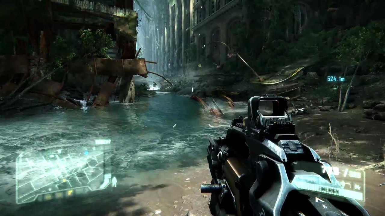 Crysis 3 max setting gameplay (no AA) 1080p with Sapphire ...