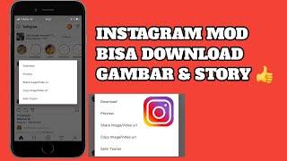 Gambar cover TERBARU 2019!!! - Instagram Mod Bisa Download All Fitur - WAJIB DICOBA!!!!