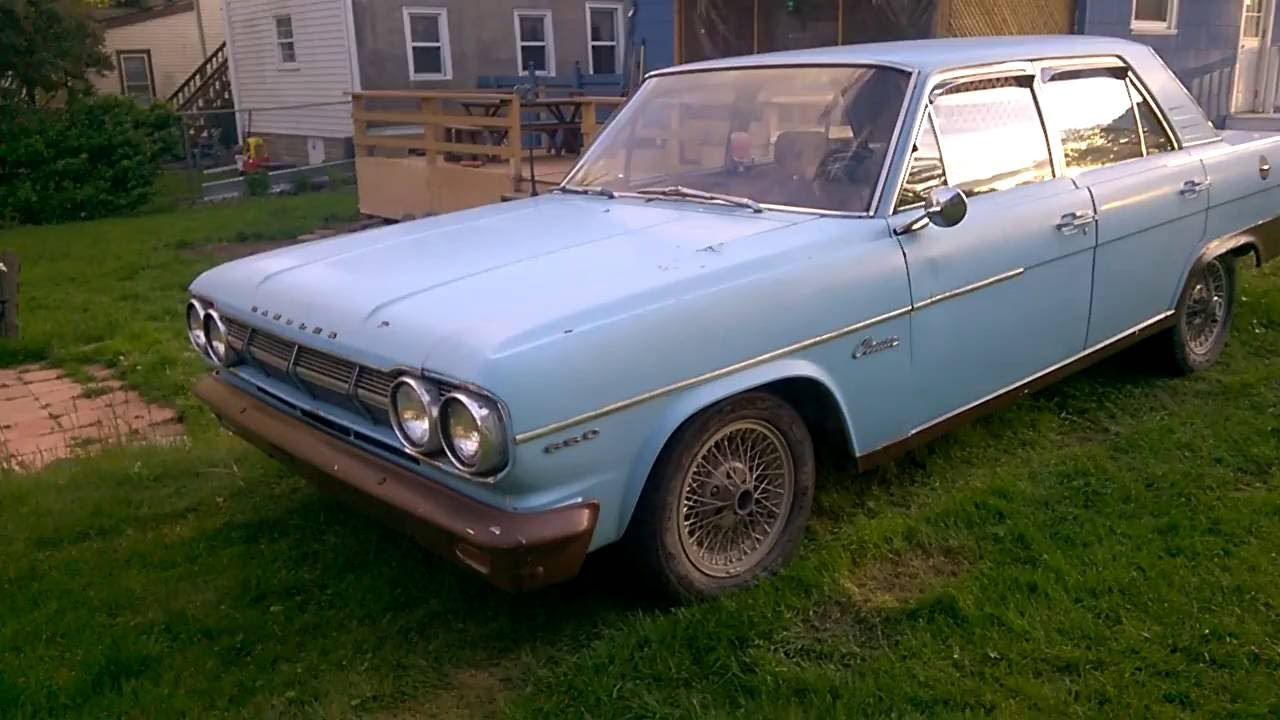 my first car 1965 amc rambler classic 660 youtube. Black Bedroom Furniture Sets. Home Design Ideas