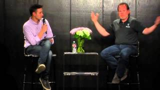 Damien Patton of Banjo and Frank Gruber | Fireside Chat | Tech Cocktail Week Vegas