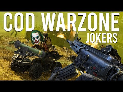 Call Of Duty Warzone Jokers
