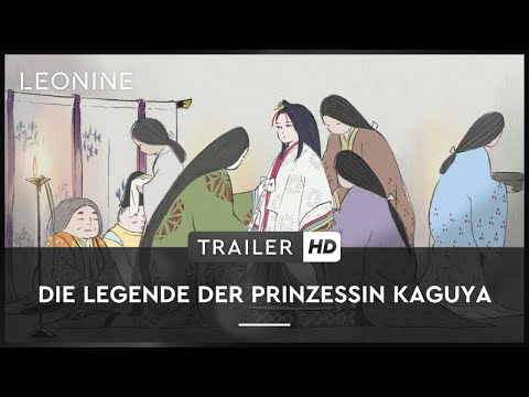 Die Legende der Prinzessin Kaguya – Trailer (deutsch/german)