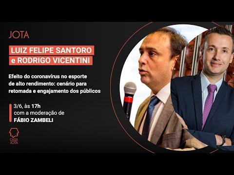 Luiz Felipe Santono e Rodrigo Vicentini: Efeito do coronavírus no esporte de alto rendimento | 03/06