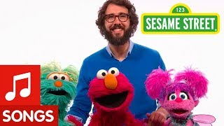 Sesame Street: Josh Groban Sings Hey Friend with Elmo and Friends!