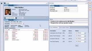 IBM Lotus Notes 8 - banking composite application - Part 1