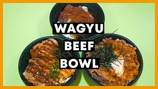 Affordable $10 Wagyu Beef Japanese Rice Bowl: Kinobe