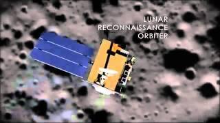 Astronauts tracks trash seen in new moon photos