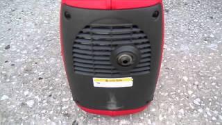видео Портативный генератор HONDA EU 20 i