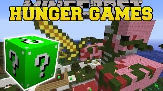 Minecraft: ZOO HUNGER GAMES - Lucky Block Mod - Modded Mini-Game