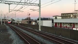 【りょうもう】東武200系 特急 りょうもう@谷塚駅(通過)