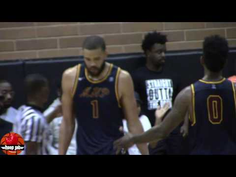 JaVale McGee DOMINATES In Drew League Debut 24 Points, 9 Rebounds, Splashing 3