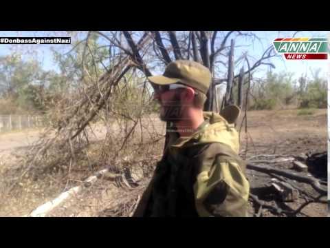 Уничтоженные танки ВСУ возле Луганска