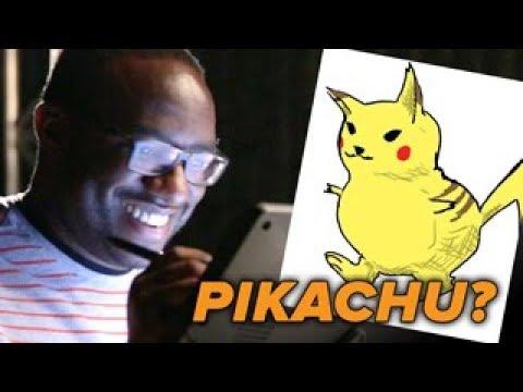Animator Vs Cartoonist Draw Pokémon Characters From Memory