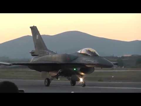Athens Flying Week 2017 HAF F-16 Demo Team Zeus Display