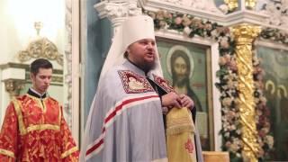 Слово митрополита Ферапонта на Божественной литургии в праздник Пасхи