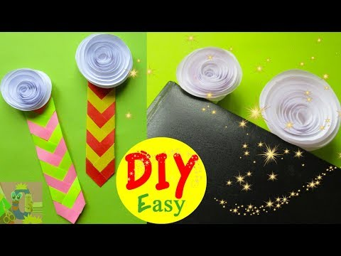 DIY Chevron Bookmark Easy | Origami Bookmarks Rose | How to Make a Paper Bookmark Twisted 3D