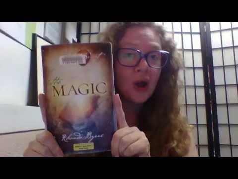 34/100 Days of Gratitude - The Magic book by law of attraction teacher Rhonda Byrne
