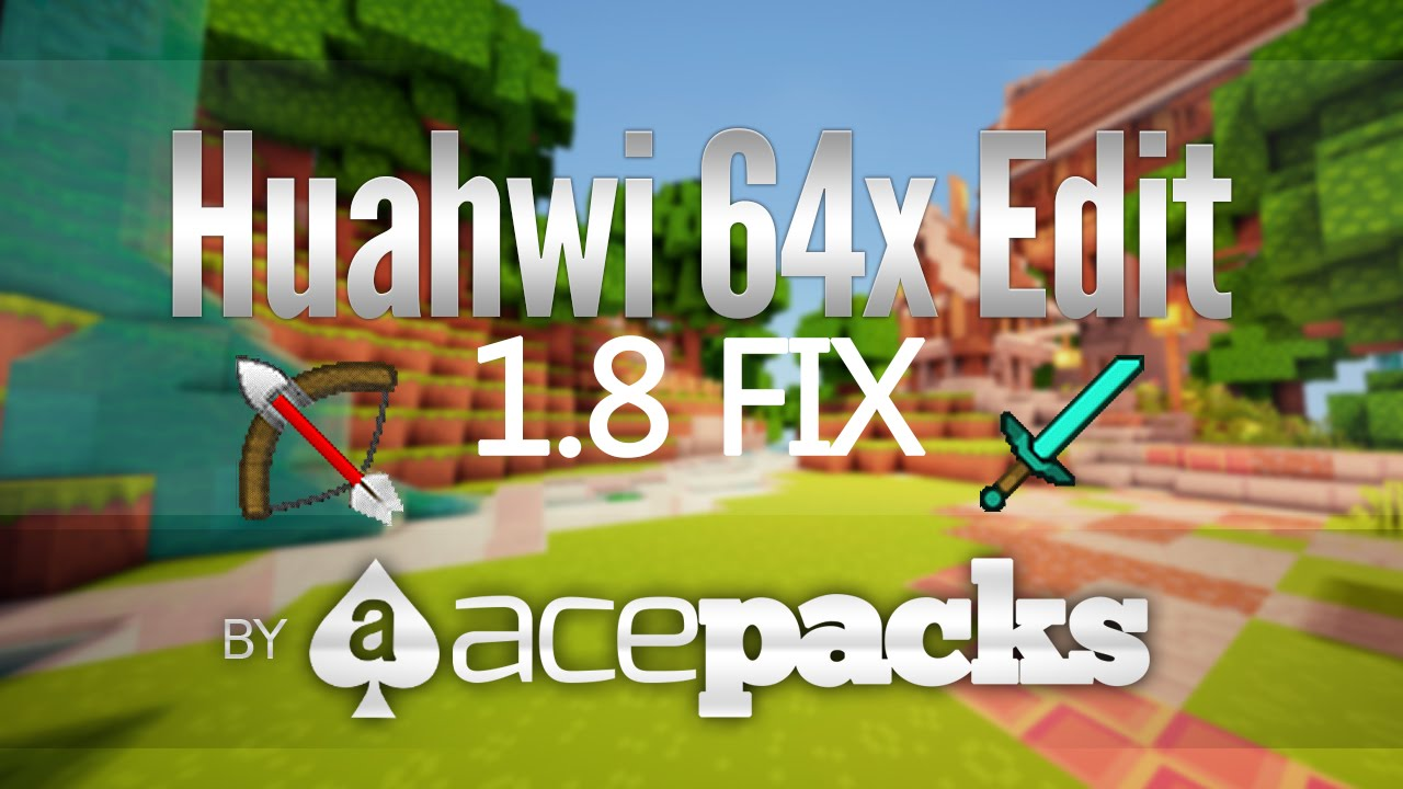 minecraft huahwi resource pack