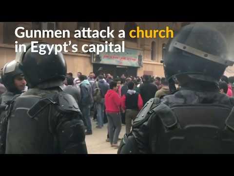 Nine dead after gunmen attack church near Cairo