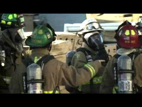 Riggs Plumbing Fire, Mesa Fire Department 2006