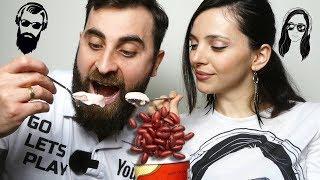 ლობიოს ნაყინის დაგემოვნება თეოსთან ერთად
