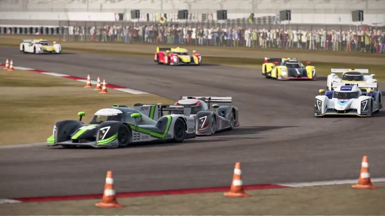 Ginetta G57 Race @ Texas Motor Speedway Road Course   Project CARS 2 PS4