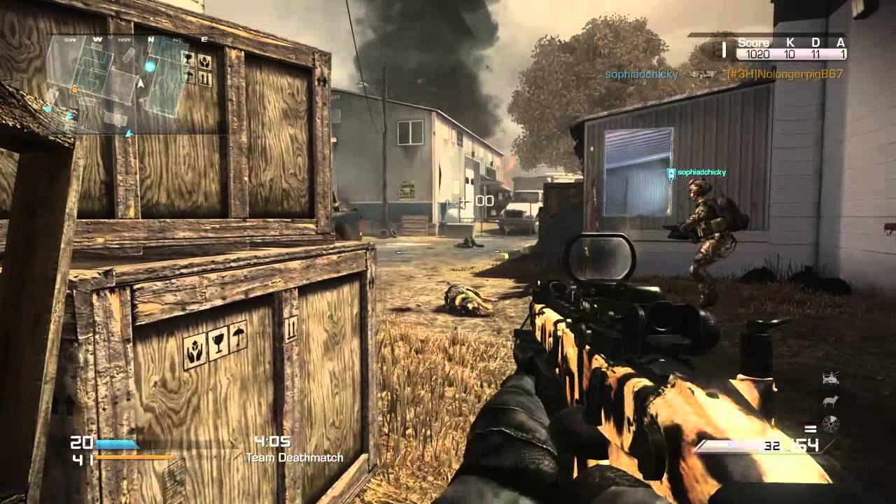 Call of duty ghost Gameplay