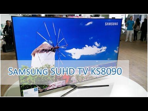 samsung suhd tv ks8090 impressions flat hd youtube. Black Bedroom Furniture Sets. Home Design Ideas