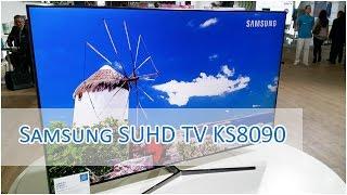 Samsung SUHD TV KS8090 Impressions - FLAT [HD]