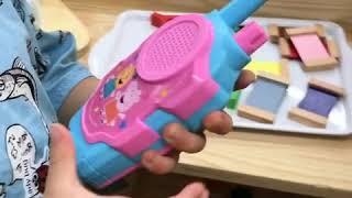 애기 무전기 워키토키 어린이 장난감 미니 생활무전기