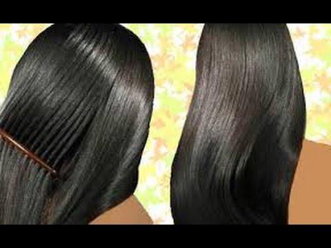 خلطة لتنعيم الشعر الخشن