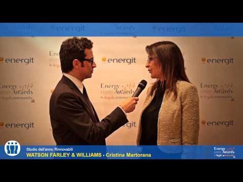 Cristina Martorana - Energy Awards 2014 by legalcommunity.it