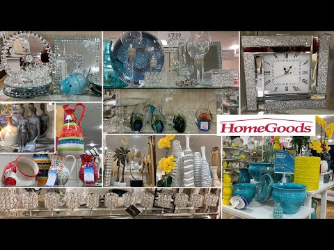 HomeGoods Glam Home Decor   Shop With Me 2020