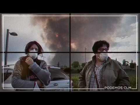 """Podemos pide en vídeo """"saber la verdad"""" sobre el vertedero de Seseña"""