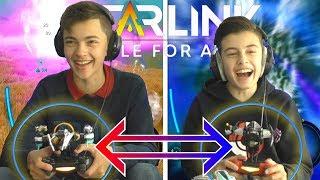 WIE HEEFT HET BESTE STARSHIP ?!   Starlink: Battle for Atlas #2 Co-op w/ Aziz