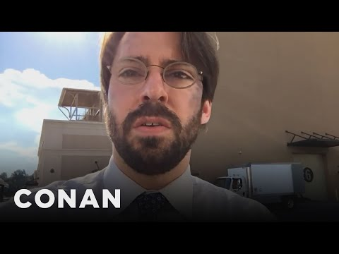 """Martin Starr Spills """"Spider-Man: Homecoming"""" Spoilers  - CONAN on TBS"""
