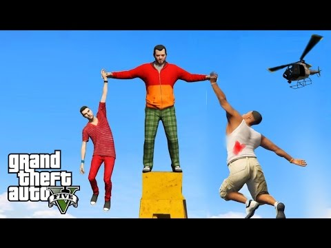 GTA 5: WERDEN DIE 2 ÜBERLEBEN !? HUNGER GAMES!