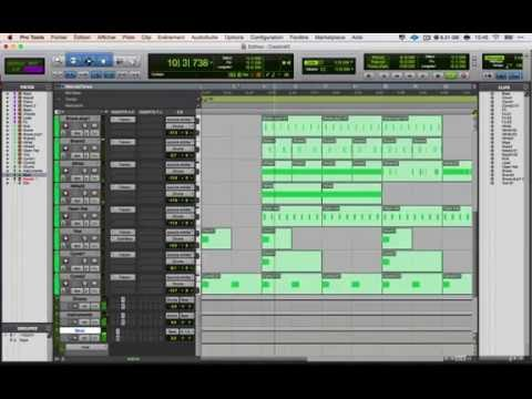 how to record a trap song w/ Trap Godz Pro Tools Preset