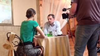 Съемки сериала. Рабочий процесс. Константин Бурухин
