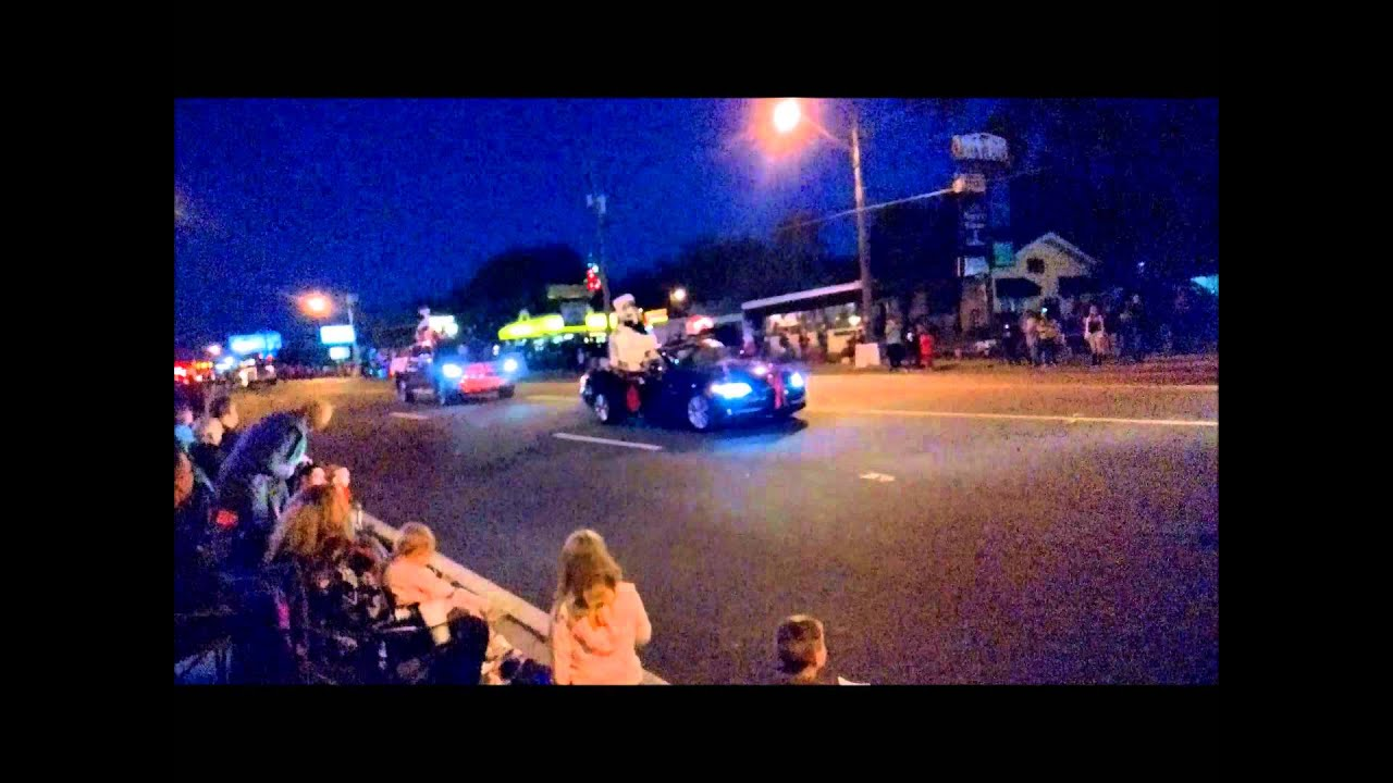 Ocala Christmas parade 2014 - YouTube