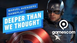 Marvel's Avengers Gameplay Is Deeper Than We Thought -  Gamescom 2019