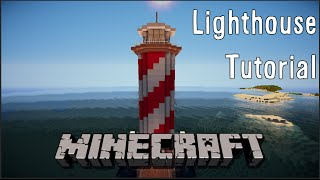 Minecraft Tutorial - How To Build A Lighthouse