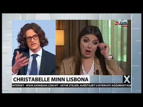 Christabelle Interviewed on Xarabank LIVE from Lisbon (Post-Eurovison 2018)