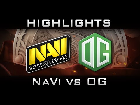 NaVi vs OG The International 2016 TI6 Highlights Dota 2