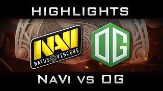 NaVi vs OG The International 2016 TI6 Highlights Dota 2