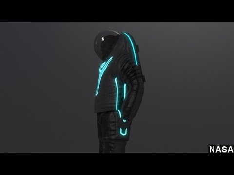 NASA Goes With 'Tron-Like' Design For Next Spacesuit